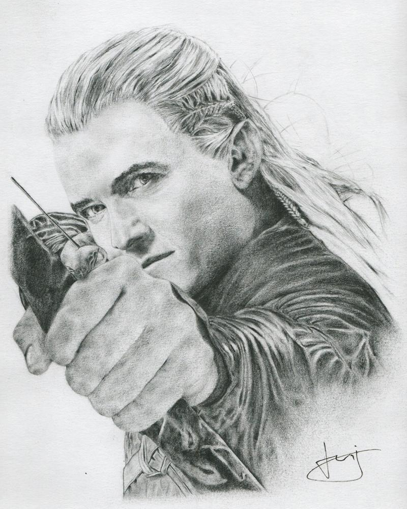 Orlando Bloom by portraitemoi